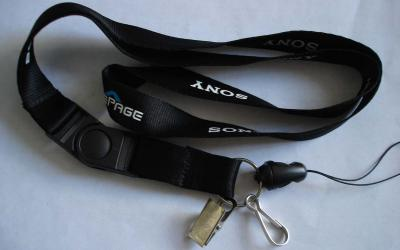 custom polyester woven lanyards