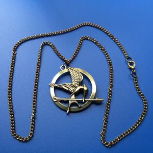 metal existing mould Hungry Games 1 necklace