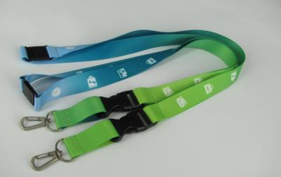 Custom Printed Polyester Neck Lanyard With Logo