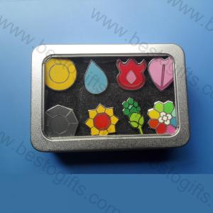 metal pokemon badge box