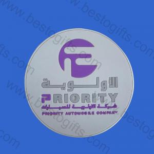 Arabic promotional rubber coaster