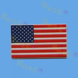 America flag soft PVC fridge magnet