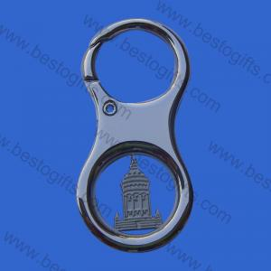 shopping trolley token coin key chain