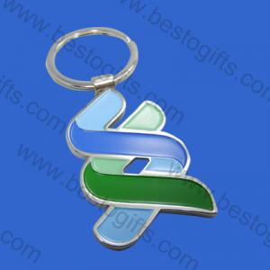 The Standard Chartered bank metal key chains