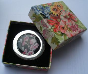 full printing flower gift box