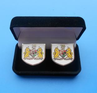 velvet box for cufflinks